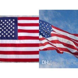90 * 150 Cm Bandeira de América do poliéster Usa Us Flaga Estados Unidos Estrelas Stripes Pround de Country Decoração Exterior