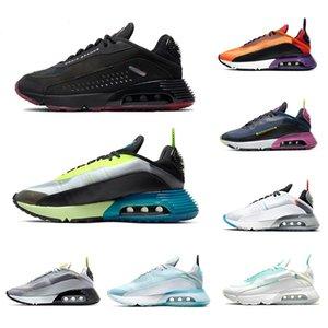 2090 Bred Kamuflaj Saf Platin Üçlü Siyah Beyaz Erkek Buharı Eğitmenler Kadınlar Moda Runner Spor Spor Ayakkabılar Ördek Ayakkabı Koşu ile