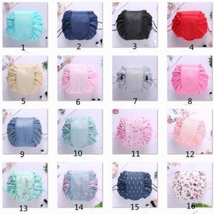 Женщины кометная сумка большой емкости sdrawstring составляют Сумка дорожная сумка женщины всякая всячина сумки для хранения без логотипа Корея тенденция 10 цветов