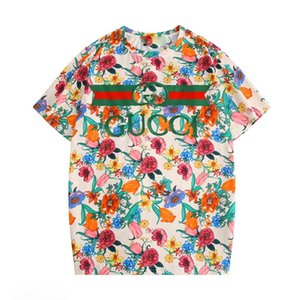 2020 Женского конструктор T Shirt женщин Printed Коротких SleeveTee для Tshirts Повседневного Summer МУЖСКОГО ЖЕНСКОГО