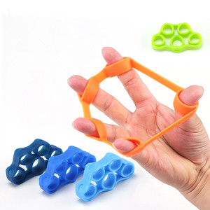 New Finger Stretcher Strength Trainer Hand Exerciser Health Tools Finger Exerciser Silicon Hand Grip Strengthener High Quality Healthy Tools