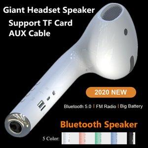 Altavoz Macaron altavoz del coche Gen 2 gigante Auricular altavoz MK101 Bluetooth estéreo portátil inalámbrico de altavoces de sonido envolvente al aire libre 5W USB