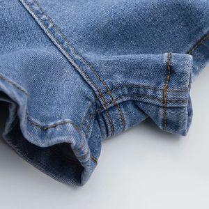 Summer Casual denim shorts female Tight-fitting stretch denim shorts women's high-waist Slim hip denim hot shorts for women 2019