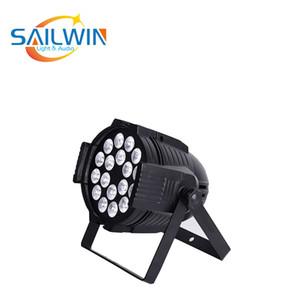 a buon mercato luce della fase del professionista LED 18x10w RGBW 4 in 1 ha condotto la luce della fase par LED PAR 64 la luce