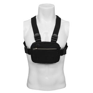 Мужчины Chest Rig Пакет Hip Hop Streetwear Мужская Прохладный Функциональная Tactical Плечо Анти Вор талии сумка кошелек Punck Стиль рюкзак