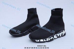 Xshfbcl 2020 Fashion Paris Speed Coach Triple Black City Socks Woven Breathing Sneakers Men Women Ladies Youth