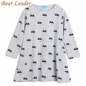 Bär Leader-Mädchen 2016 Sommer-Kleid-Mädchen-Kleidung-Kind-Kleidung Little Bear Lässige Asymmetrisches Mädchen-Partei-Prinzessin-Kleid