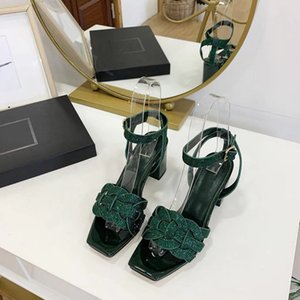 Atmosphere Classic Simple Luxury Butterfly-knot Medium Heel Strap Sandals High-end Customized Top Quality Sexy Women Shoes