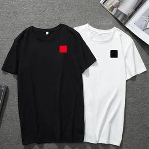 I nuovi amanti europei e americani del 2020 ultimo anno. Popolare piccolo cuore rosso ricamato dimensioni T-shirt..The asiatico è XS - 5XL