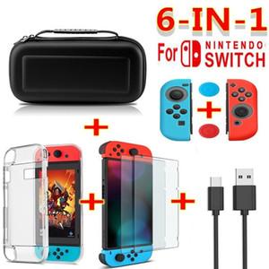 Для Nintendo Switch дорожная сумка для переноски протектор экрана EVA чехол зарядный кабель 3D12