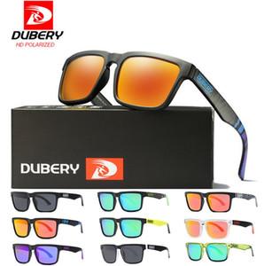 DUBERY Sunglasses place Sport Lunettes de soleil Hommes Femmes au volant Retro 2019 Luxury Shades Lunettes de soleil UV400 D710 Livraison gratuite