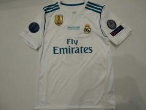 2017 18 Real madrid soccer jersey maglia da calcio MODRIC MARIANO ASENSIO Vinicio JR Bale RAMOS Camiseta 18 19 ISCO 12 a 13 campioni