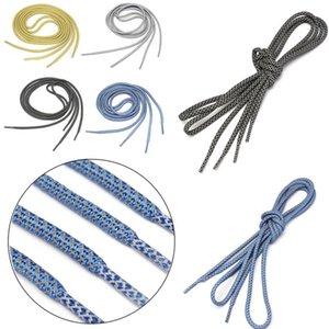 1pair 120cm réfléchissant Runner Lacets de sécurité visibles Lacet Shoestrings personnalisés pour Round ultra boost Chaussures de basket corde