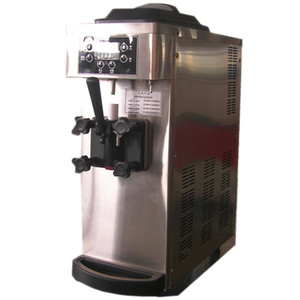8L Hot sale Stainless steel structure and durable commercial Ice Cream Machinery   Soft Ice Cream Machine free shipping by