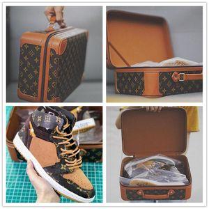 Nike Air Max Retro Jordan Shoes NEUE Männer Freizeitschuhe Herren-Leder-Sneakers große Größen-38-48 für Herren-Schuhe Herren Mode Wohnungen Marke Mode Schuhe De Hombre * S1988