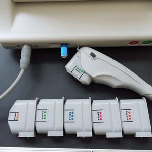Hifu Kartuşları 10000 Çekim Yüksek Yoğunluklu Odaklanmış Ultrason Yüz Germe Hifu Kafa hifu makinesi Için Ücretsiz Kargo