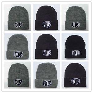Ücretsiz Kargo Marka Yeni! Deus Ex Machina Baylands Trucker Bere şapka Erkekler Kadınlar Bboy Kız Spor Kış 6 Hiphop