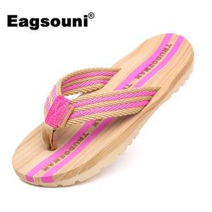 Eagsouni 2019 Verano Mujer Zapatos Moda Chanclas Playa Casa Zapatillas Pareja