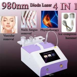 Escleroterapia para la máquina de las venas de araña Eliminación de las venas del diodo láser de 980 nm Eliminación de las venas de la araña del vaso sanguíneo del diodo de 980 nm Eliminar el láser