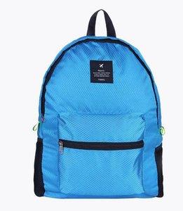 Backpack Bag Folding Outdoor Designer-Travel Nylon Strap Business Shoulder Rhombus Mglbf