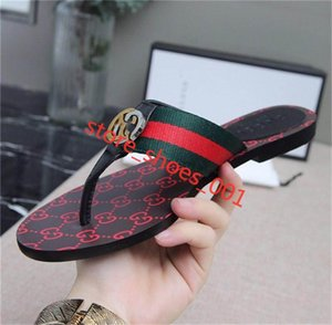 2020 xshfbcl New men and women Web strap thong sandal men's sandals fashion casual slippers top quality size36-45