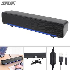 SADA V-196 de Gaza altavoz inalámbrico de escritorio Multi-media barra de sonido con altavoz de doble DSP y mezcla de sonido para el hogar / oficina SSB_008