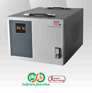 PRO-10KVA split phase AC automatic voltage regulator stabilizer MCU CONTROL MOTOR SERVO TYPE COLORFUL DISPLAY in stock no waiting