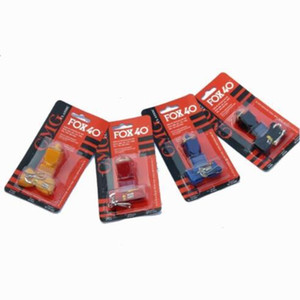 Fox40 Apito Fox 40 do futebol do futebol do basquetebol do basebol hóquei Sports Referee Whistle Survival Whistle 120pcs CCA11452-A Noise Maker