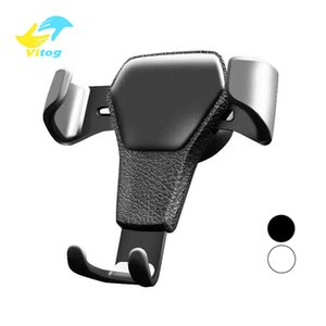new Gravity Car Holder For Phone in Car Air Vent Clip Mount No Magnetic Cell Stand For X 7 Mobile Phone Holder