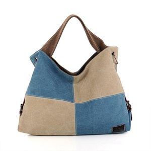 Lading Omuz Kadın Paketi Of Tasarımcı-Tuval Kapasite Tide Yazım Renk Kumaş Will Çanta El Bill