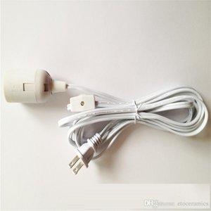 Cable de alimentación de la lámpara IQ con interruptor de apagado y portalámparas E 26 y cable de cable de lámpara de 12 pies de largo