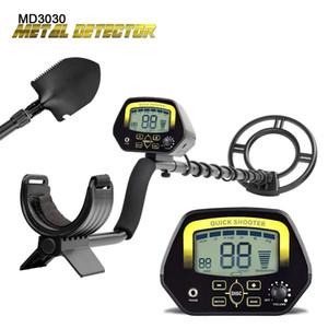 Metal Detector MD3030- Rilevatori professionali leggeri Underground Treasure Hunter Display LCD Caccia oro e gioielli sotto Sha shallow Wat