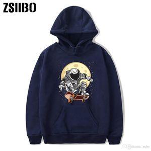 mens hoodies designer chaud de vente Espace planchiste Imprimé col rond Garde et vêtements pour femmes hommes loisirs hiver t chemises DHBOWY11