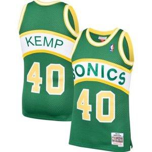 Cheap Shawn Kemp SEA Mitchell Ness 1994-95 Hardwood Classic Jersey Top Basketball jerseys