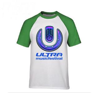 Männer ULTRA MUSIC FESTIVAL T-Shirt Online-Shopping-Shirt Männer Mode T-Shirt Top Erwachsene Kleidung Designmuster Pullover Herren 3d Shir Polos