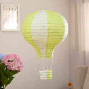 HOT Hot Air Balloon Paper Lanterns For Wedding Birthday Engagement Christmas Party Decoration Stripe Set Pack Of 6 Other Event Party Suppl