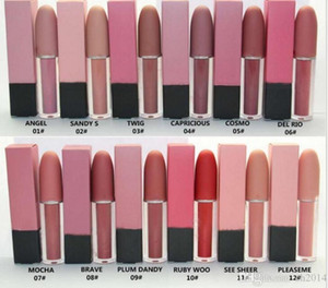 Factory Direct Free Shipping New Makeup Lips 4.5g M6873 Lustre Lip Gloss!12 Different Colors