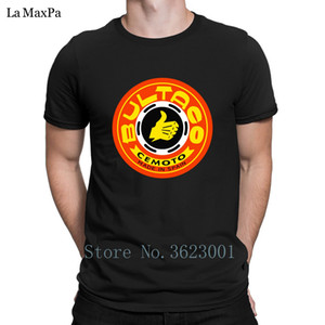 Crea T-Shirt Umorismo per la maglietta Big Taglie vendita calda Men Bultaco maglietta estate del Mens Tee Shirt Trendy Uomo