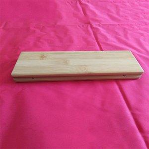الخشب المواد عيدان مربع اثنين من أزواج رفوف مواقف عيدان حالة السفر المنزلية استخدام أدوات المائدة صناديق صديقة للبيئة 14qh L1