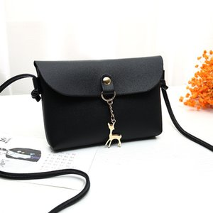 Women's bag 2020 new trend shoulder bag stylish simple fawn solid color casual ladies carry messenger