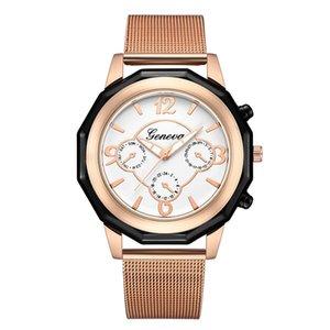 Women Stainless Steel Watch Analog Quartz Bracelet Wrist Watches Gift Women's Watches Simple jam tangan wanita