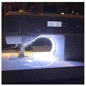 Nähmaschine LED-Licht-Streifen-Licht-Kit DC 5V flexible USB-Nählicht USB Stromversorgung Fit Alle Maschinen