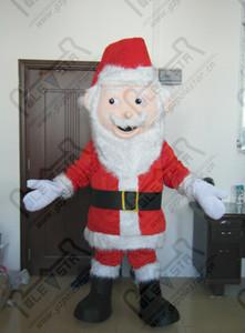 Père Noël costumes de mascotte costumes de fête de Noël STAR POLE MASCOT COSTUMES