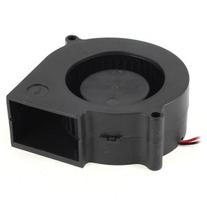 75 mm X 30 mm 2 pin DC 12 V brushless fan PC computer cooling fan