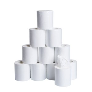 10x10cm 10pcs Üç Katlı Tuvalet Kağıdı Ev Banyo Tuvalet Kağıdı Rulo Yumuşak Tuvalet Kağıdı Cilt dostu Kağıt Havlular Yeni k1