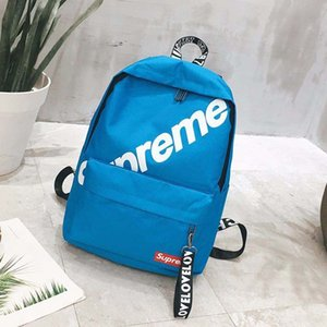 Модный дизайн унисекс рюкзак школьные сумки дорожные сумки большой емкости открытый молния Soild нейлон женщины водонепроницаемые сумки на ремне