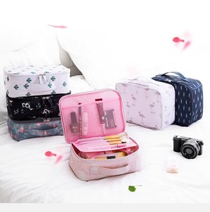 Travel Cosmetic Bag Floral Portable Bag Hand-held Small Lady Mini Cosmetic Washing Bag portable stuff bags FFA3702