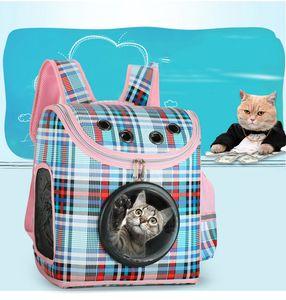 Explosivo Pet Space Cápsula Cat Dog Out Hombro Portátil Práctico Mochila de Viaje Cat Litter Pet Supplies