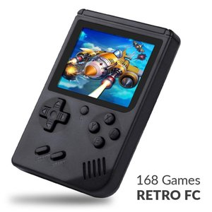 Mini portatile Retro Nostalgic 3.0 pollici Handheld Retromini Boy Video Player giocatori di console di gioco tascabile built-in 168 giochi T6190615