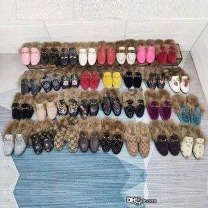 Tasarımcı Terlik Kadınlar Gerçek Deri Düz Süet Çiçek Yılan Katır Moda Açık Terlik Bayanlar Yaz Shoes